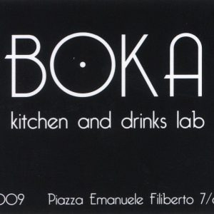 Consulenza boka itchen and drinks lab