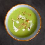 Crema di piselli e yogurt | Peas cream and yogurt