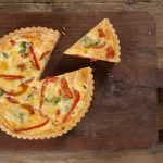 Quiche ai peperoni e zafferano | Quiche with bell peppers and saffron