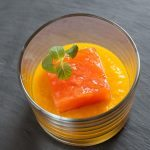 Salmone marinato e crema di zucca | Marinated salmon with pumpkin cream